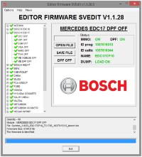 Module BOSCH EDС17 DPF OFF MERCEDES