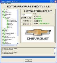 Module DTC OFF DELPHI MT80 Chevrolet
