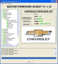 Module EGR OFF DELPHI MT80 Chevrolet