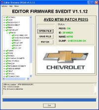 Module AVEO MT80 PATCH P0315 CHEROLET