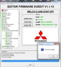 Module EVAP OFF MELCO K-LINE MH7203/8206/8304/8305/8306 MITSUBISHI