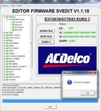 Module CAT OFF ACDELCO E37/38/39/67/78/83