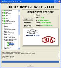Module EVAP OFF SIM2K-250/251 Hyundai Kia