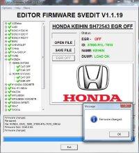 Module EGR OFF KEIHIN SH72543 HONDA