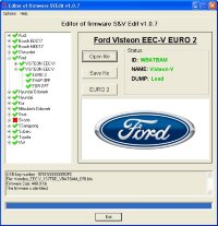 Модуль Ford Visteon ECC-V EURO2