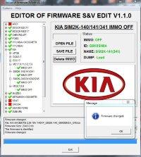 Module Immo OFF SIM2K-140/141/341 Hyundai Kia