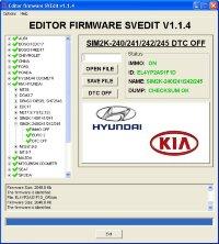 Module DTC OFF SIM2K-240/241/242/245 Hyundai Kia