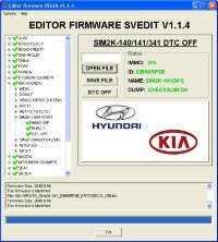 Module DTC OFF SIM2K-140/141/341 Hyundai Kia