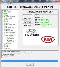 MODULE IMMO OFF SIM2K-250/251 HYUNDAI KIA