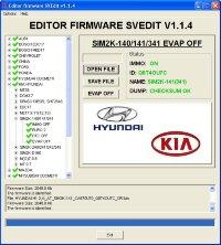 Module EVAP OFF SIM2K-140/141/341 Hyundai Kia