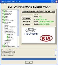 Module EVAP OFF SIM2K-240/241/242/245 Hyundai Kia