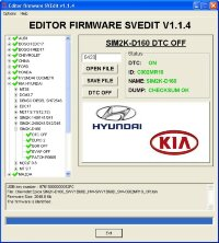 Module DTC OFF SIM2K-D160 Hyundai Kia