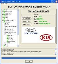 Module EGR OFF SIM2K-D160 Hyundai Kia
