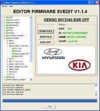 Module EGR OFF DENSO TDI SH72546 Hyundai Kia