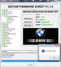 Module EVAP OFF MSV(D)70/80/81/85/87/90 BMW