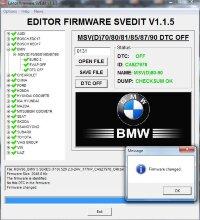 Module DTC OFF MSV(D)70/80/81/85/87/90 BMW