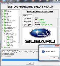 Module DTC OFF HITACHI SH7059 1.5 MB SUBARU